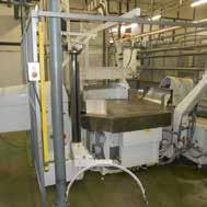 Age 2007 Tevopharm Pack 6 S miniwrap machine was wrapping hard candy, the infeed pitch is 50mm