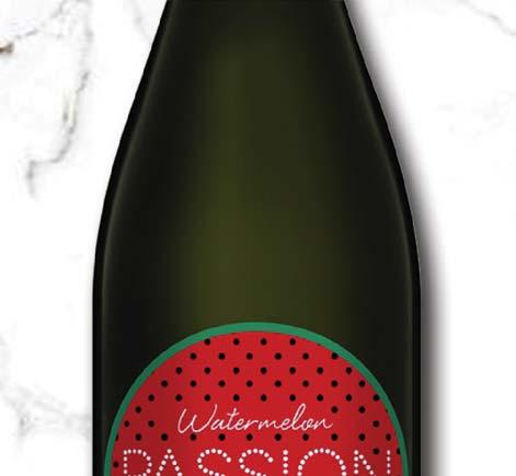 AP003 Passion Pop Watermelon Watermelon Aroma (Alc. 9.5%) South Eastern Australia, NV Colour: Aroma: Palate: Light crimson Upfront flavours of watermelon with a balanced fruit sweetness.