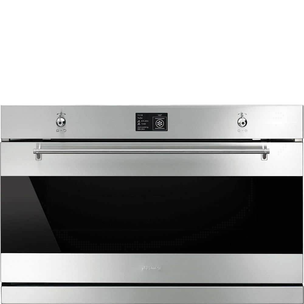 "SFP9395X 90cm ""Classic"" Pyrolytic Multifunction Oven,Finger Friendly Stainless Steel and Eclipse Glass Energy Efficiency Class B EAN13: 8017709212575 12 functions Inc."
