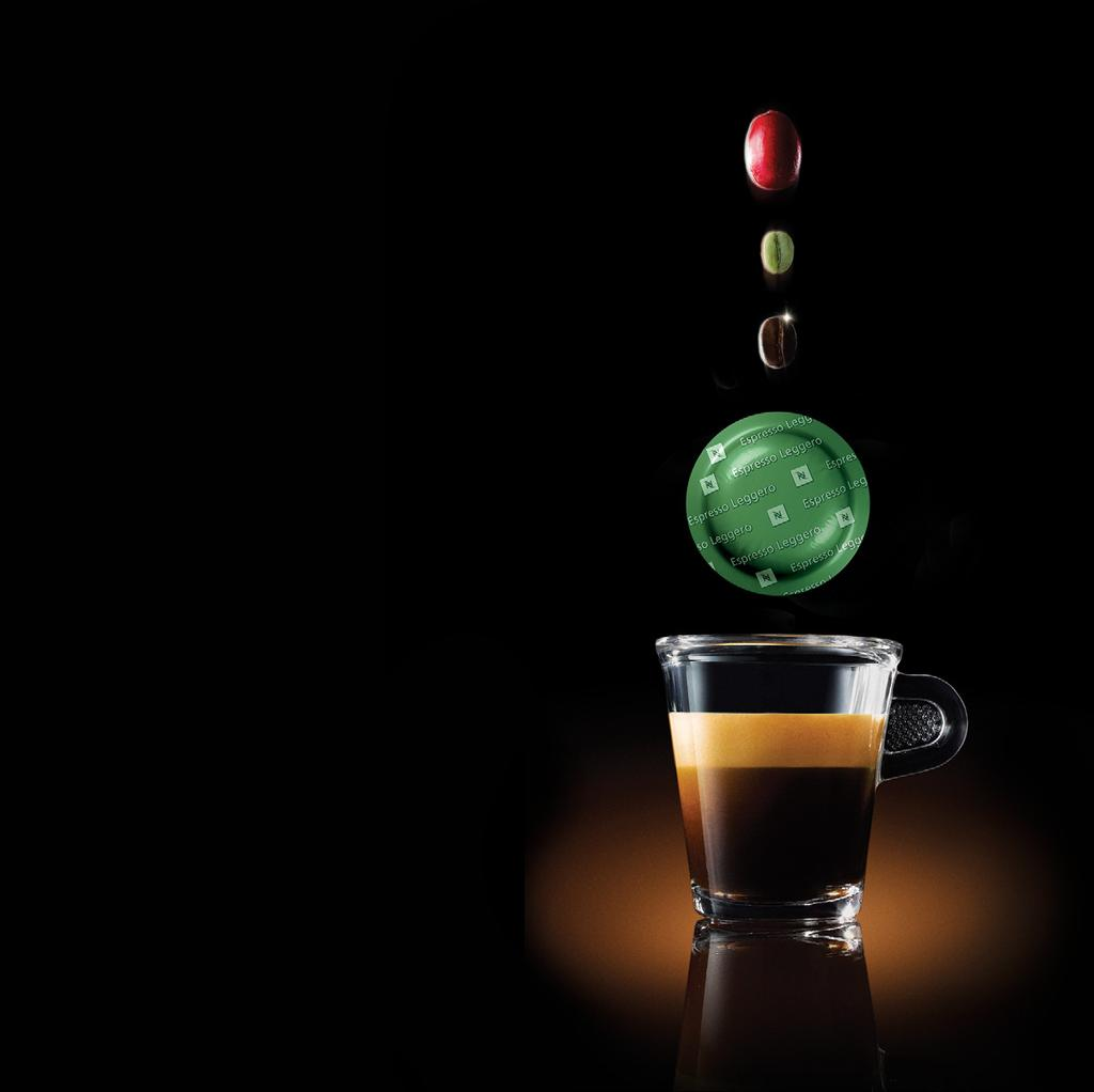A JOURNEY TOGETHER FOR A MORE SUSTAINABLE FUTURE We believe that each cup of Nespresso has the potential to deliver pleasure for you and your customers and also restore, replenish and revive
