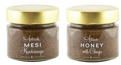 HONEY WITH CHAGA The Chaga mushroom (Inonotus obliquus) is known in Siberia as the Mushroom of Immortality, the Japanese call it the Diamond of the Forest and for the