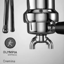 In order to guarantee a perfect result and longevity, the high-tech gaskets used in the Cremina. The default pressure is adjusted to between 0.7 and 0.8 bars and the brewing temperature to 198 F.