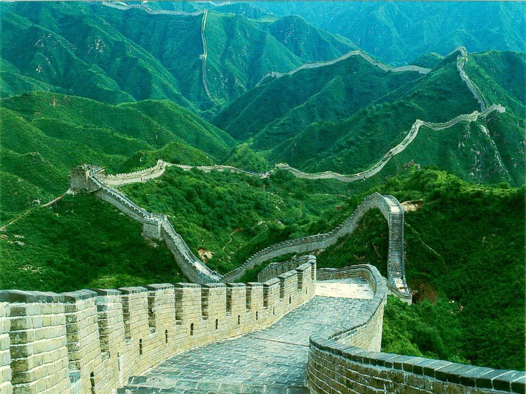 The Great Wall of China Built in