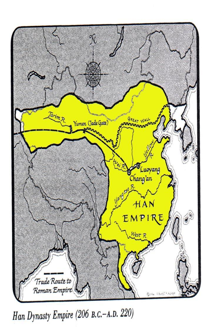 The Glorious Han Ruled China for more than 400 years until 220 AD Used same forms of