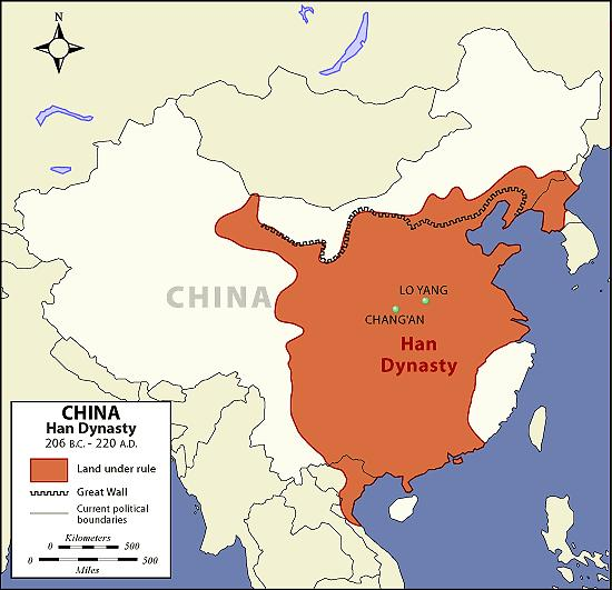 Pax Sinica Chinese Peace = 400 year period of prosperity & stability China fed its