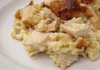 TURKEY CASSEROLE WITH CHEESE Prepare this turkey dish for brunch, lunch, or dinner. Feel free to use shredded Swiss or a mild Cheddar cheese in this flavorful turkey casserole.