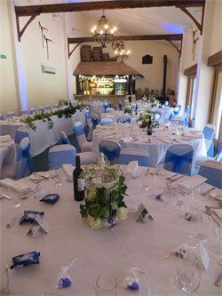 WEDDING BREAKFAST MENU OPTION THREE 37 per person - 2015 STARTERS Buffalo Mozzarella, Beef Tomato Basil oil & Balsamic Glaze (v) Spiced Beef Carpaccio Rocket, Shaved Parmesan and