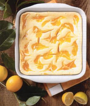 In the Land of the Meyer Lemon Lemon Ripple Cheesecake Bars Crust 1 Cup all-purpose flour ¼ CUP sugar 1 t finely grated lemon zest pinch salt 1 stick (4 ounces) unsalted butter, cubed & chilled