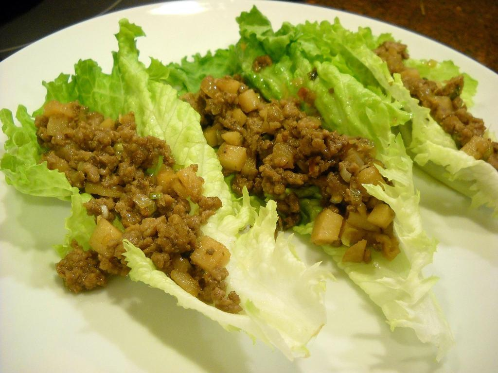 Lettuce Wraps Low carb snacks Romaine Lettuce Slices of Any of the following: Ham, Turkey, Beef, Chicken, Egg, Bacon.