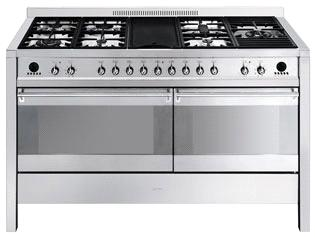 "A5-5 150CM ""Opera"" Dual cavity Cooker with Gas hob and Electric griddle Energy rating AA EAN13: 8017709099343 *Special promotion on this model* 5 year guarantee on parts and labour if purchased by"