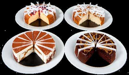 7 Assorted Banquet Cake 14 Slice