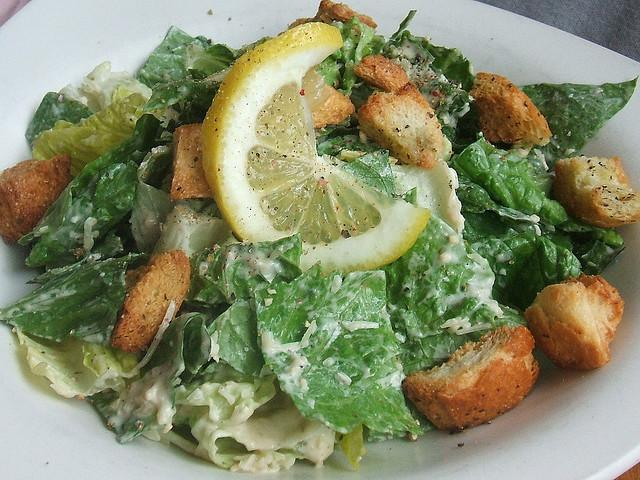 Garlic Caesar Salad https://c2.staticflickr.com/4/3314/3493918839_76706f4bf1_z.