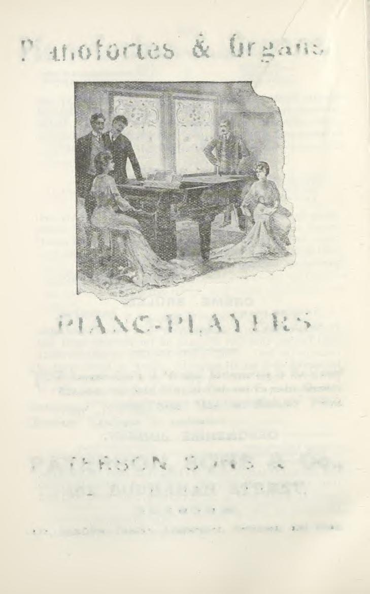 Pianofortes & Organs. PIANO-PLAYERS.
