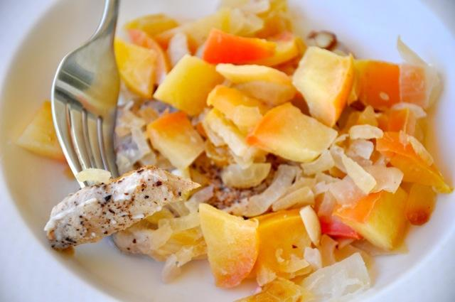 Dinner: Easy Apple Pork Chops I love easy, nutritious recipes like this that come together quickly.