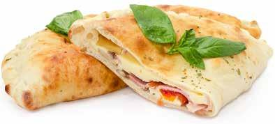 Calzones A Calzone is an Italian oven-baked folded pizza that originated in Naples, Italy.
