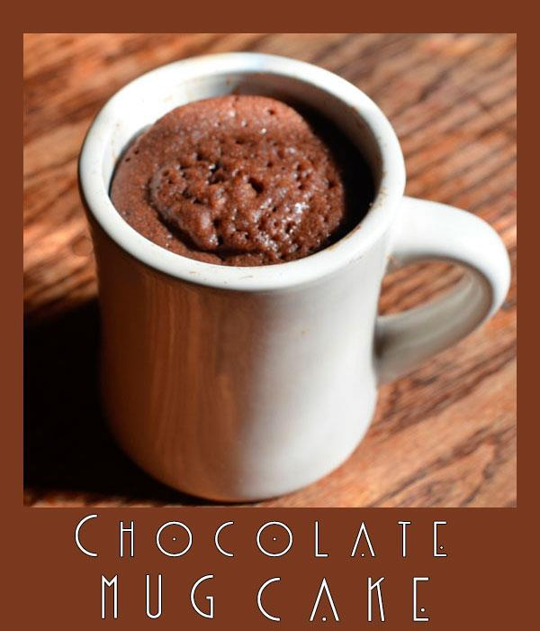 Chocolate Mug Cake Recipe ¼ cup all-purpose flour ¼ cup sugar 2 TBS unsweetened Cocoa 3 TBS milk 3 TBS vegetable oil ¼ TSP vanilla extract 1.
