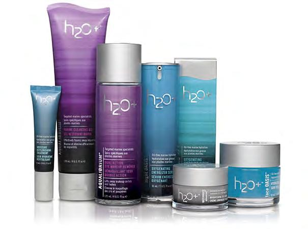 Products h2o+, USA (skincare benefits of