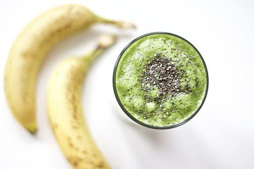 Fat Burning Green Smoothie (Gluten-Free, Vegan, Paleo) Planned for Breakfast on Tuesday, January 2, 2018 Source: northsouthblonde.