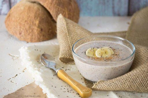 Banana Chia Pudding Planned for Breakfast on Wednesday, January 3, 2018 Source: www.ourpaleolife.