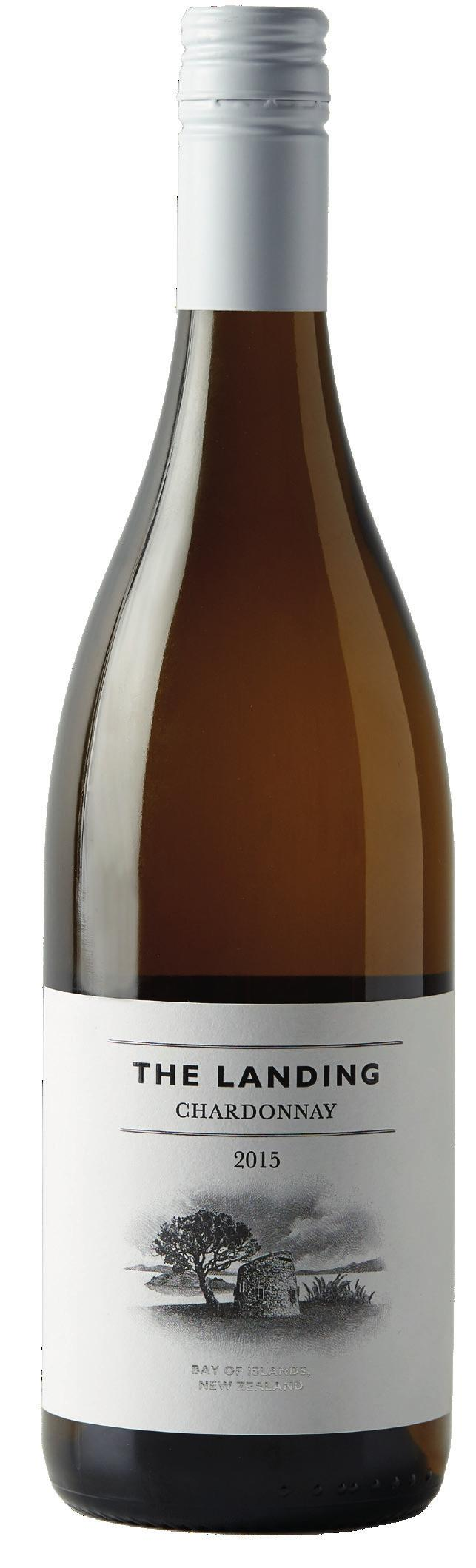 THE LANDING CHARDONNAY 2015 Grown on the coastal slopes overlooking the Bay of Islands, the 2015 Chardonnay is an expression of citrus, stonefruit and fine oak flavours, with a long and delicious