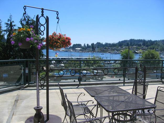 Enjoy great food, amazing friends, beautiful music and terrific views of Gig Harbor from the head of the bay for a dinner to
