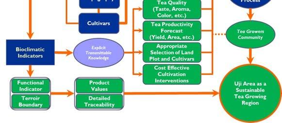 The types of cultivation processes selected by the tea growers are mostly motivated by each grower s objectives.