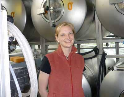 Anna is new brewmaster at Zerodegrees Zerodegrees, the ultra-modern and spacious pizza restaurant and micro-brewery in Colston Street, at the top of Christmas Steps, has a new brewmaster.