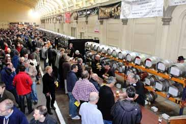 There were around 140 different real ales on sale over the two days of the festival and when the final session closed on Saturday night there were still 50 different real ales available.