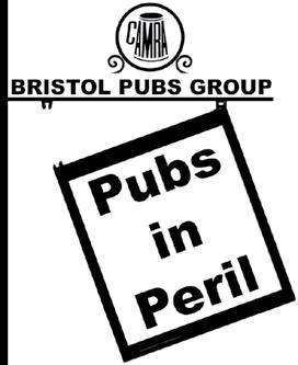 The Bristol Pubs Group will: Promote the use of community pubs. Campaign against closure of pubs that could be viable. Campaign against insensitive alterations. Pubs it s not all bad news!