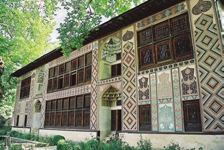 Focusing on Azerbaijan Khan s Palace, Sheki In Baku, you can find museums of history, literature, music culture, the carpet, Azerbaijani theater and a unique museum of miniature books.