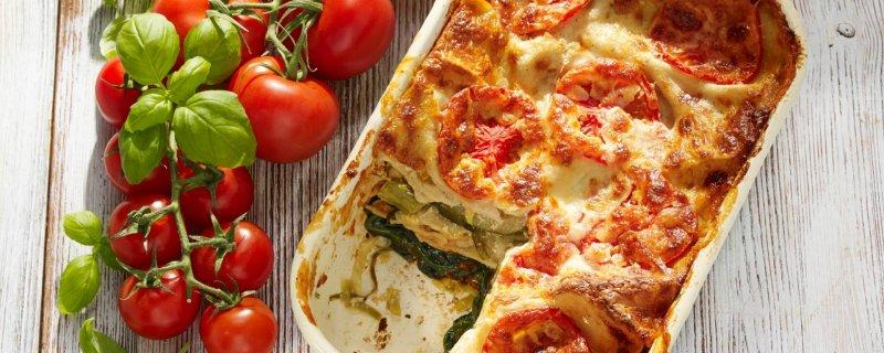 Vegan Lasagne Monday 4th September COOK TIME 00:50:00 PREP TIME 00:30:00 SERVES 4 Best made in spring when the vegetables are young and tender this vegan lasagne combines fresh green asparagus spears