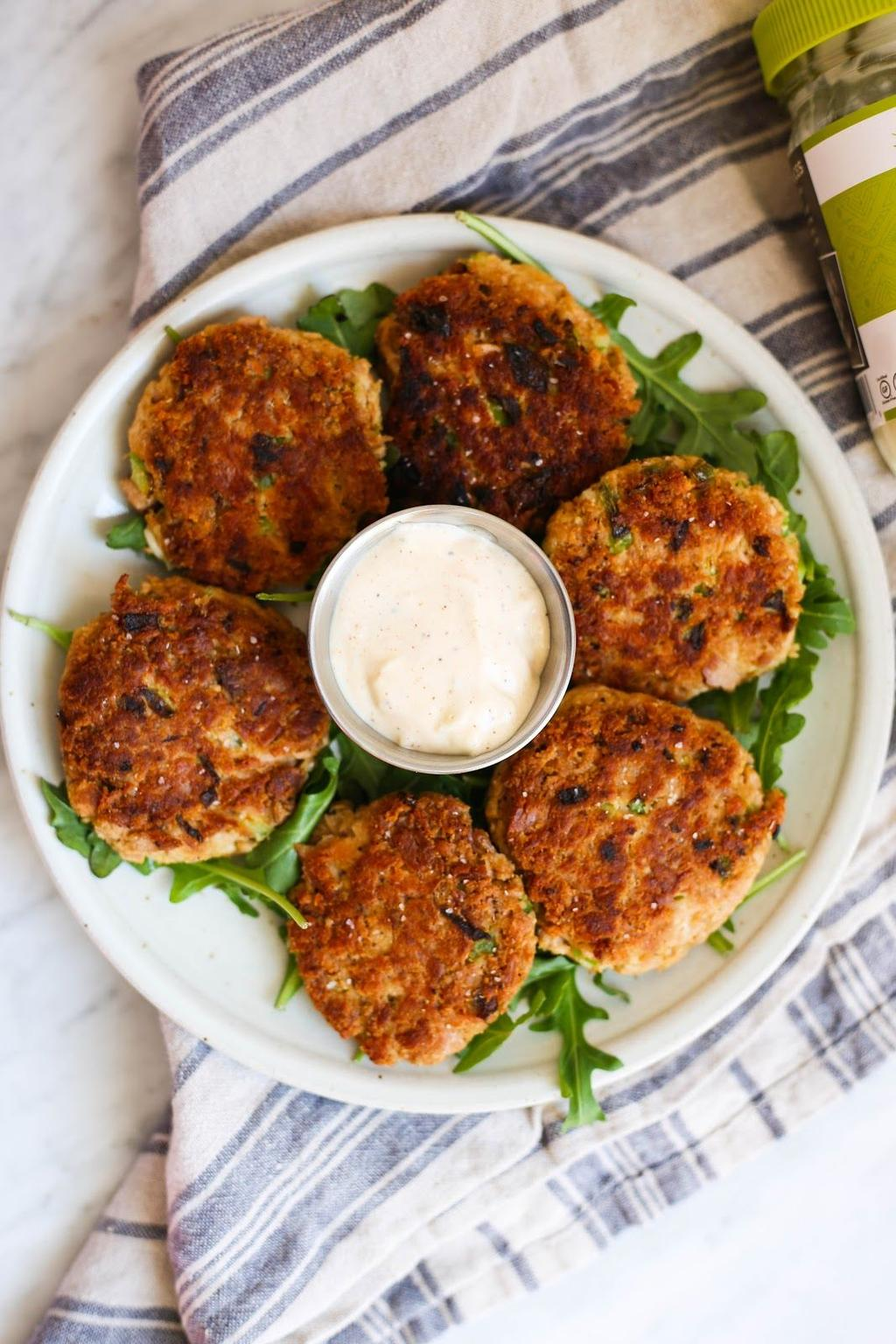 Monday Whole30 Tuna Cakes