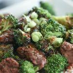 DAY 2 SMALLER FAMILY- TERIYAKI BEEF AND BROCCOLI SKILLET M A I N D I S H Serves: 4 Prep Time: 12 Minutes Cook Time: 15 Minutes 2 cups broccoli (chopped) 2 tablespoons olive oil 1/2 teaspoon salt 3-4