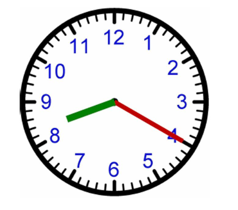 #22 What time is shown on