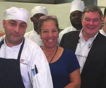 Let stand for 12 minutes. Drain the eggs and run them under cold water to cool.