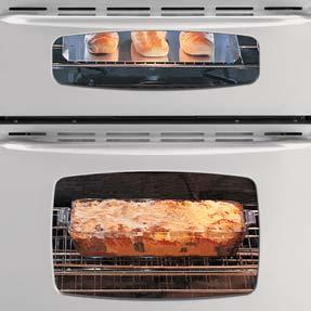 Double-Oven Freestanding Ranges Two Separate Ovens. One Complete Meal. FETURES YOU DEPEND ON FROM MYTG 5.22 Cu. Ft.
