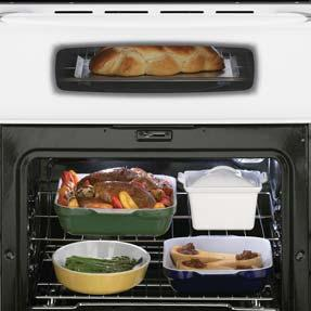 Self-Cleaning Oven Baking nd Broiling Keep Warm Feature uto-lock When Self-Cleaning LOWER-OVEN FETURES Precision Cooking System With Precise Preheat 4.0 Cu. Ft.