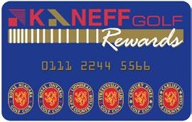 Book your Meetings at any KaneffGolf clubhouse and receive Reward points towards Golf.