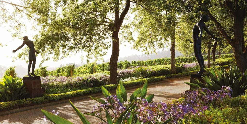 THE ESTATE A paradise to discover Delaire Graff Estate has achieved what diamantaire Laurence Graff had in mind when he vowed to transform this magnificent Cape Winelands property into South Africa s