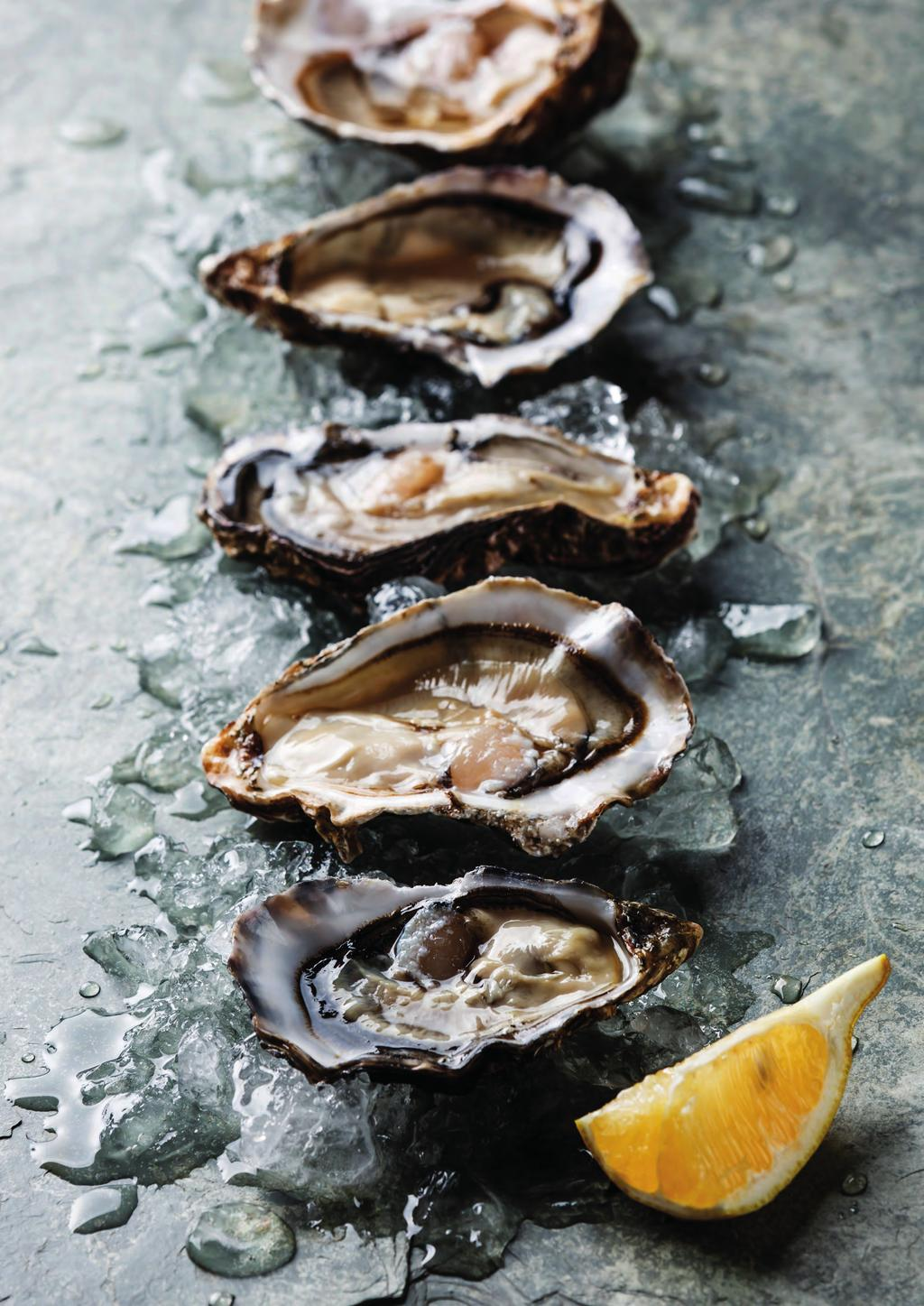 THE WORLD IS OUR OYSTER We have the great Scottish Highlands to thank for our exceptional Loch Fyne oysters.