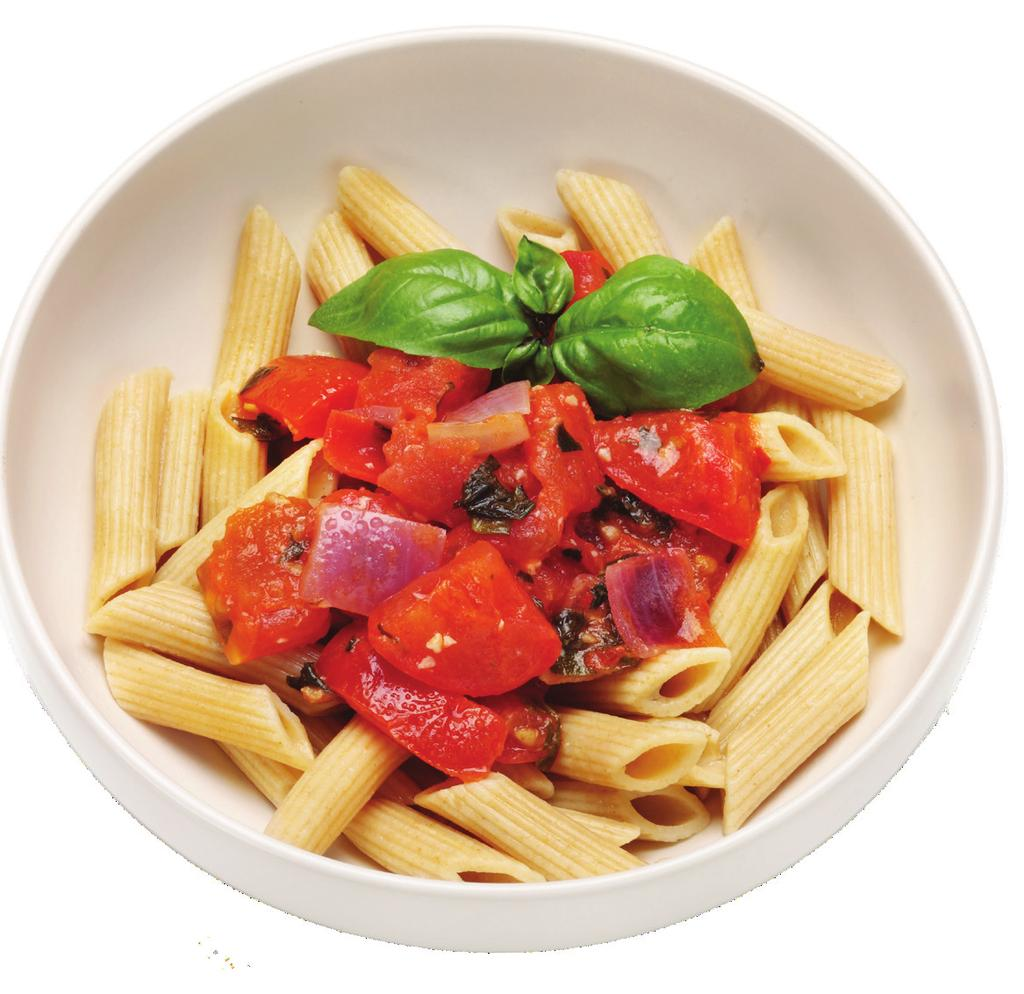 ingredients 1 1/2 lb Whole Wheat Penne Pasta, Cooked 1/4 cup Fresh Italian Parsley, Chopped