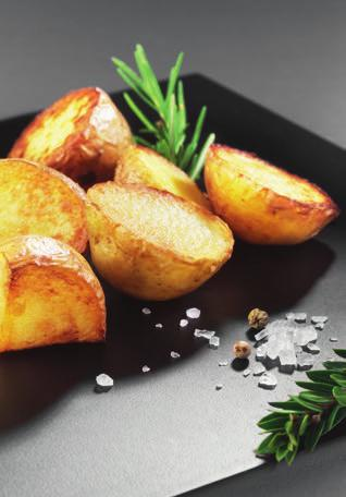 ROAST POTATOES 86VEGETABLES Preparation: 20 min Cooking time*: 30-40 min drip tray or baking tray supplied If you like, you can use new potatoes and cook them in their jackets.