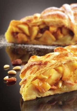 STRUDEL 92DESSERT Preparation: 40 min Cooking time*: 30-40 min baking tray supplied You can use different varieties of apple, but remember to adapt the amount of sugar depending on the sweetness of