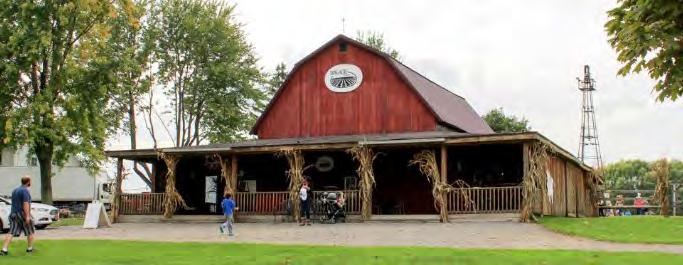 Agritourism provides lifeline for a New York farm LEFT: Long Acre Farms operates a 5-acre corn maze, hayrides, a winery and an events barn, among other attractions.