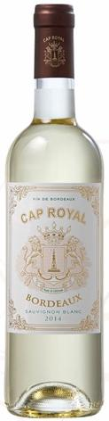 The finish is soft and dominated by tropical fruit. Cap Royal 2016 Sauvignon Blanc AOC Bordeaux, France This Sauvignon Blanc has very open and opulent aromas with notes of citrus and passion fruit.