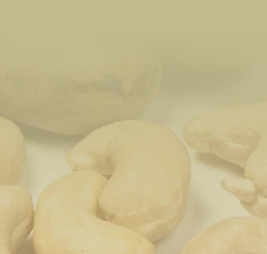 CASHEWS CASHEW IMPORTS / Shelled (Metric Tons) COUNTRY 2006 2007 2008 2009 2010 2011 2012 2013 2014 2015 2016 Growth 2006-2016 USA 116,877 124,665 112,800 124,768 132,458 114,832 111,322 131,419