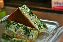 alsacienne' is similar to the 'quiche lorraine', though onions are added to the recipe.