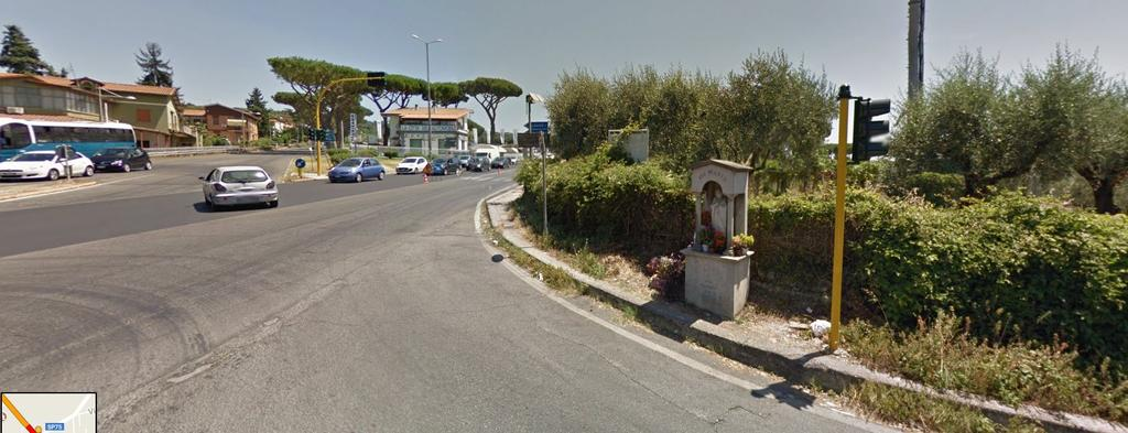 Albano (south) via the