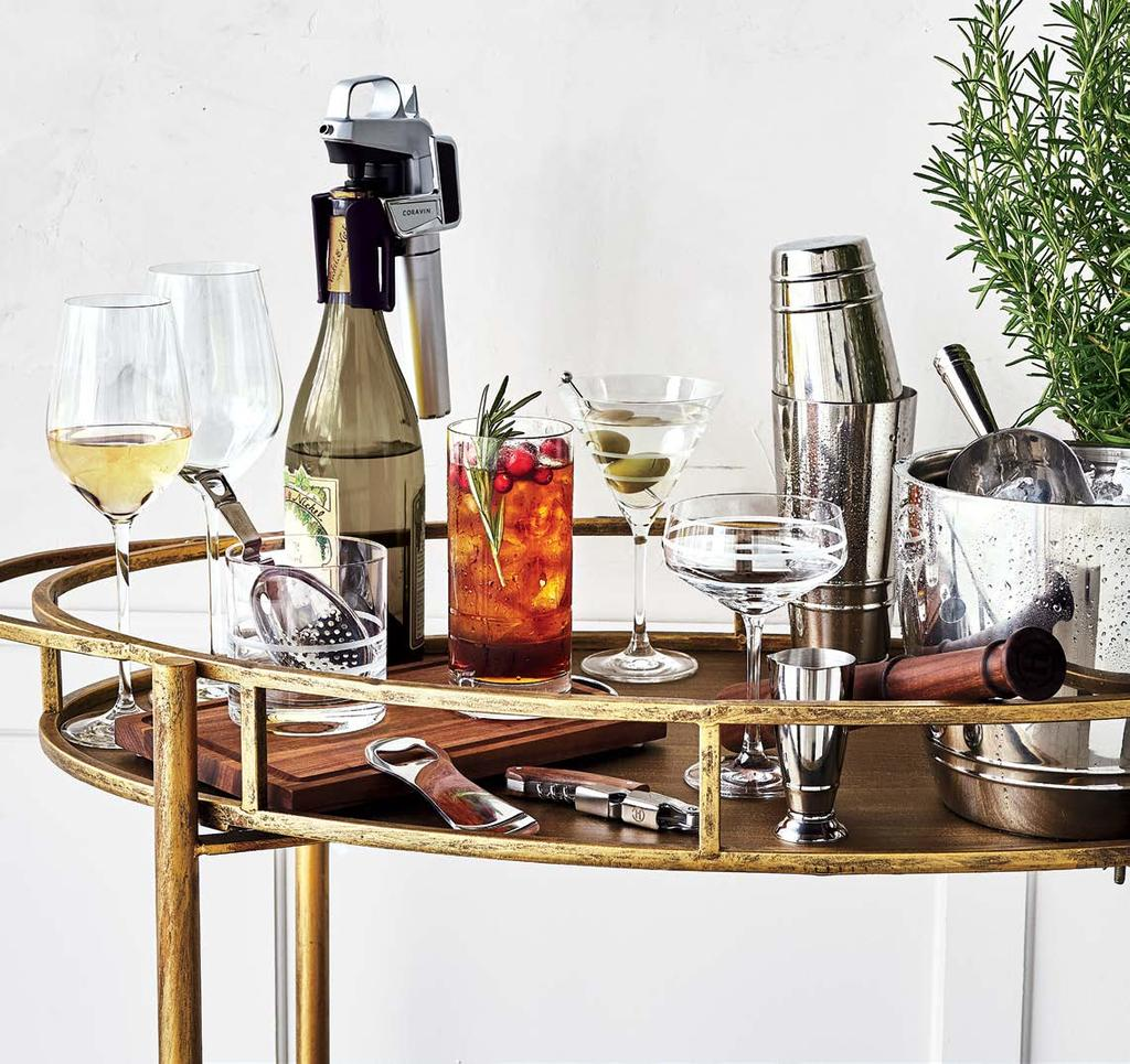 12 RIGHTER SPIRITS THE R IS RISED ause a stir with gifts that shine our top-shelf collection makes every detail count. oravin Model 2 Elite Wine System Want to wow wine lovers?