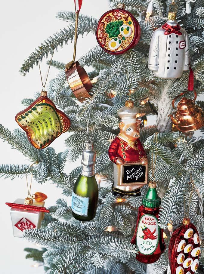 20% OFF GIFT FOR THE OOK Decking the halls is more fun with ornaments guaranteed to make cooks smile.